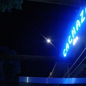 Luna llena desde la terraza del Cachaza