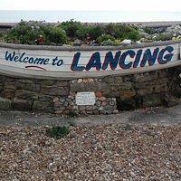 Lancing beach