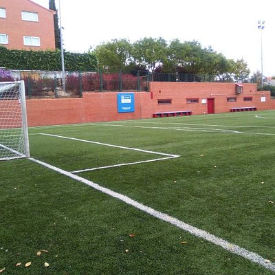 Mi campo de futbol.