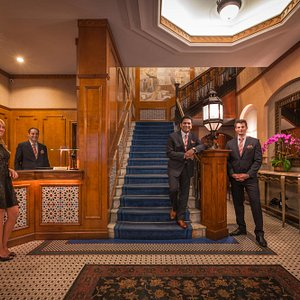 The team is waiting to greet you the moment you enter the Casablanca Hotel.