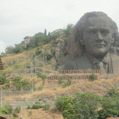 Ataturk Sculpture