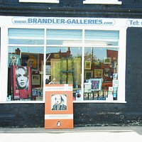Brandler Galleries Window