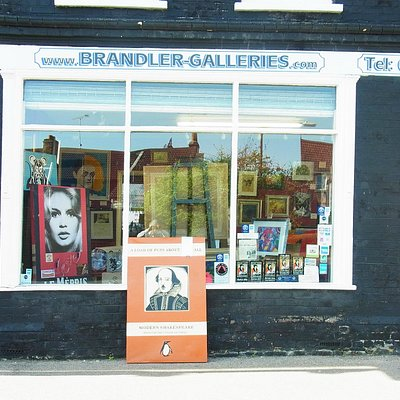 Brandler Galleries Window