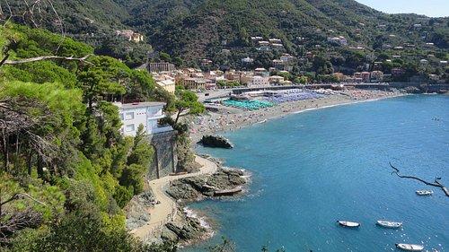 Bonassola beach