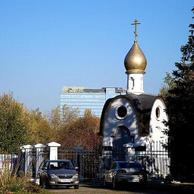 Часовня рядом с Богоявленским храмом