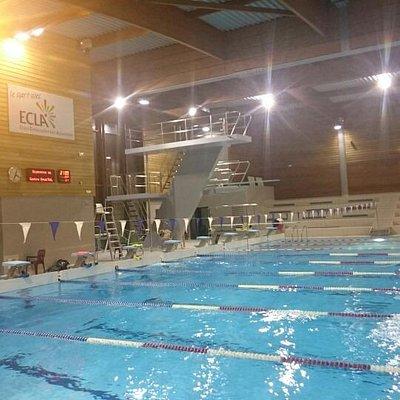 LONS-LE-SAUNIER - Centre nautique Aqua'ReL - Bassin 25m et plongeoirs