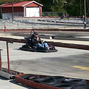 Fun way to spend time with friends! Go cart track is great.