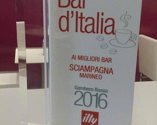 Sciampagna Pasticceria vincitore Bar d'Italia 2016 Gambero Rosso