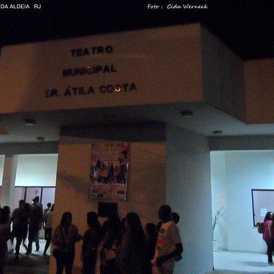 Teatro Municipal Dr Átila Soares da Costa                        Foto : Cida Werneck