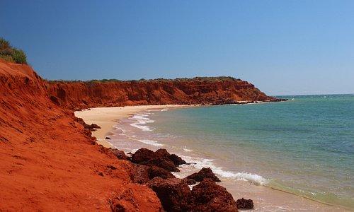 Stunning cliffs and beaches
