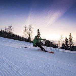 Ski de soirée