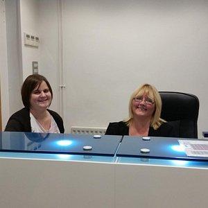 friendly theatre tikcet office staff