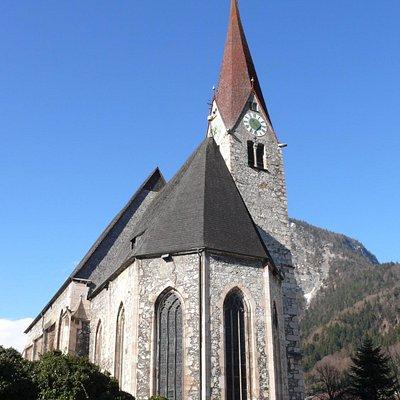 Kościół św. Wolfganga i Leonarda Jenbach Tyrol Austria