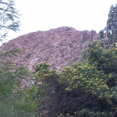 Base del Cerro San Isidro