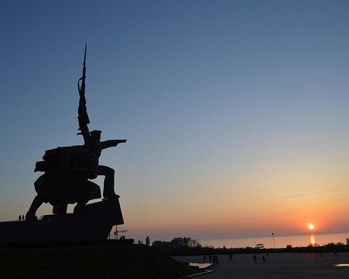 SOLDIER & SAILOR Monument, Sevastopol, Crimea, Russia