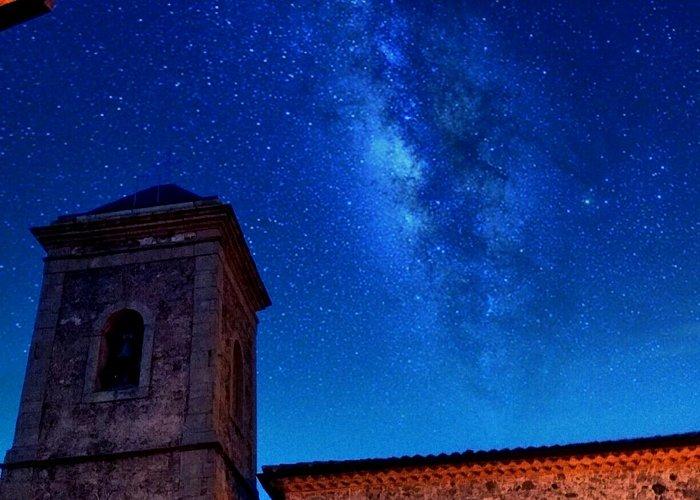 Scorcio Chiesa di Cerzeto (centro storico)