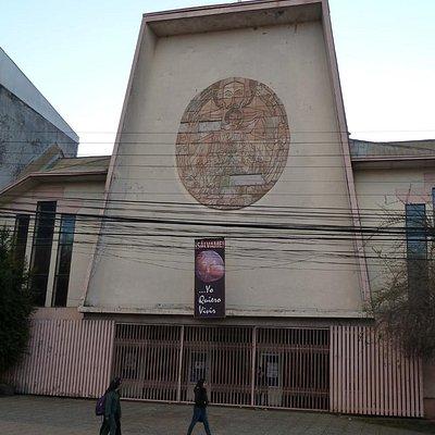 Die bescheidene Kathedrale von Los Angeles in Chile