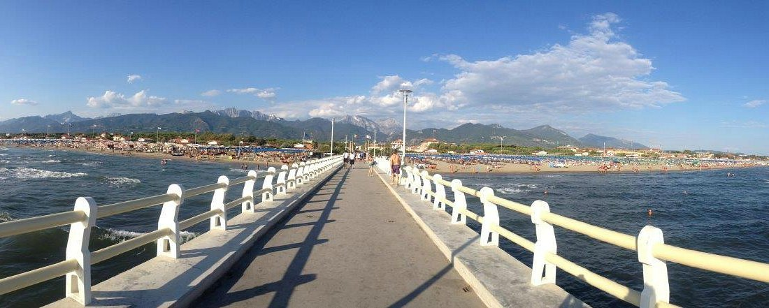 Forte dei Marmi pontile