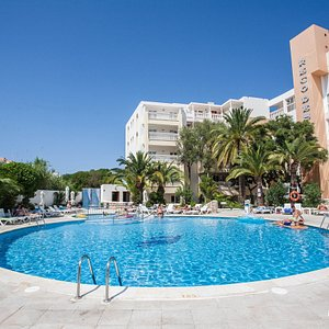 The Pool at the Aparthotel Reco des Sol