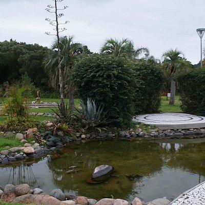 Lago da praça