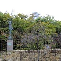 姫路城の北側