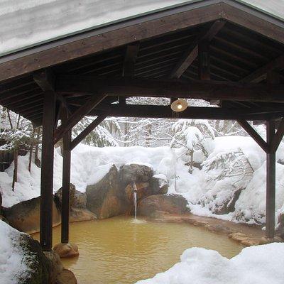 民俗館の露天風呂