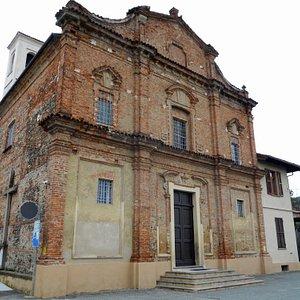 La faccita della Chiesa di San Vito
