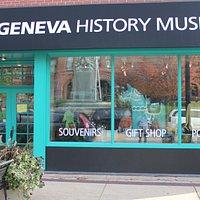 Street view of the Geneva History Museum