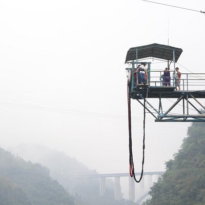 Bungee Jumping at Happy Valley
