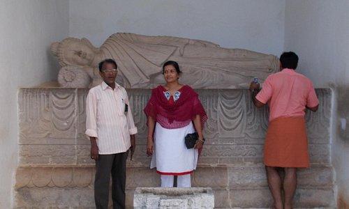 Near the second Buddha Statue