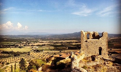 руины замка Montemassi