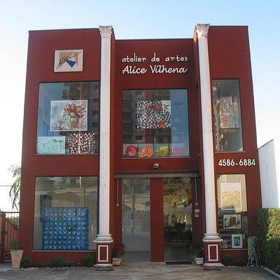 Galeria de arte e aulas