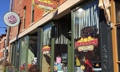 Freddie's Popcorn Shop in Dubuque