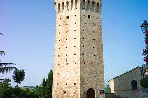 Ortezzano La torre Ghibellina