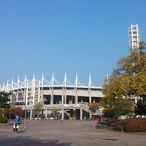 Football court &volleyball court