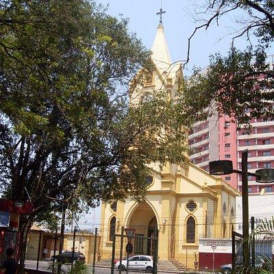 Igreja de Nossa Senhora do Rosário e São Benedito-Jundiaí-SP