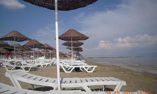 Вид на пляж