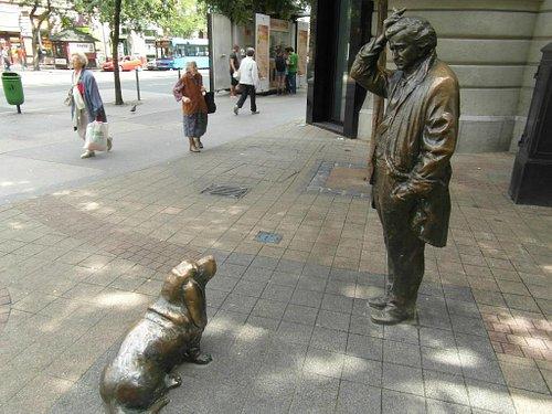 Standbeeld Colombo (Peter Falk)
