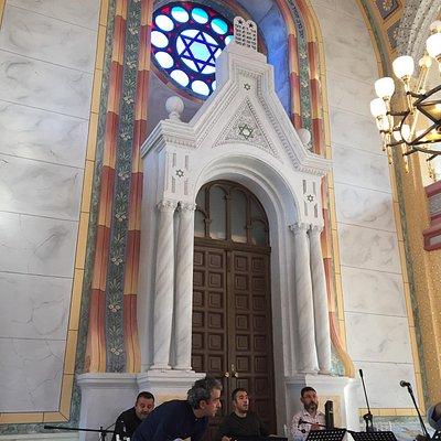 Beautiful synagogue