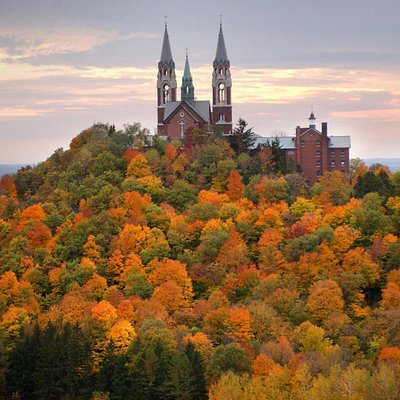 Holy Hill in October