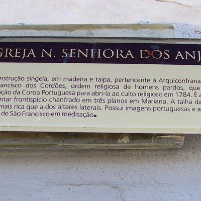 as placas me auxiliaram sobre a história da igreja