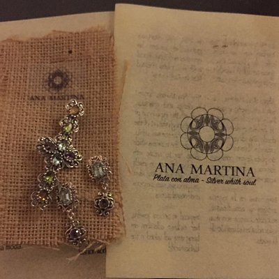Ana Martina's beautiful designs with gemstones!