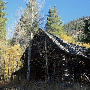 Rustic Cabin Near the Trail