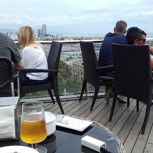 La terrazza del bar ristorante
