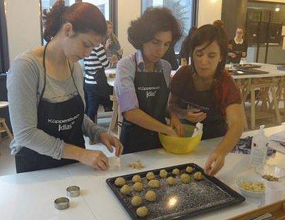 workshop de culinária