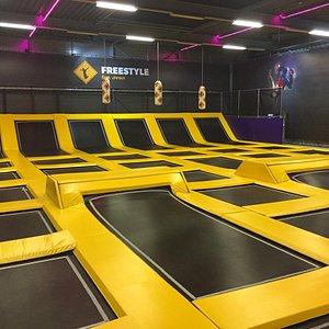 De Freestyle area