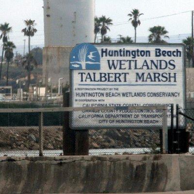 Huntington Beach Wetlands, Huntington Beach, Ca