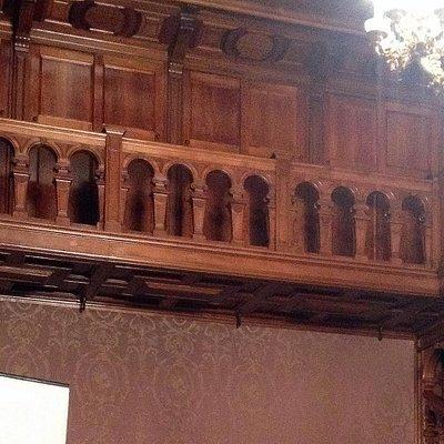 Дворец композиторов, балкон