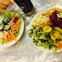 Salad bar-Pickles