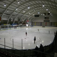 The historic 1932 Winter Olympics Ice Arena (now the Jack Shea Arena)